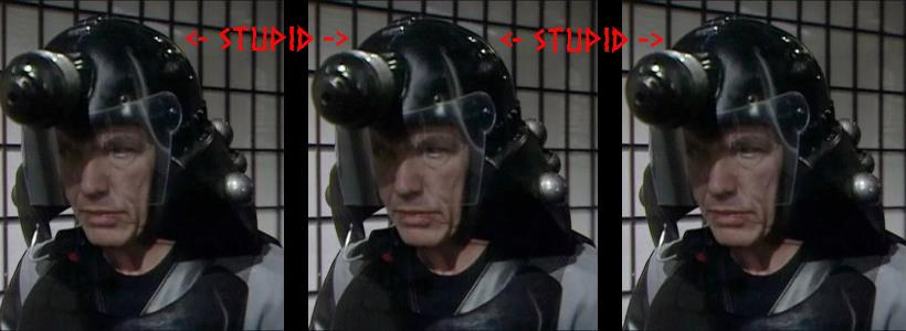 Stupid Dalek Helmet is Stupid